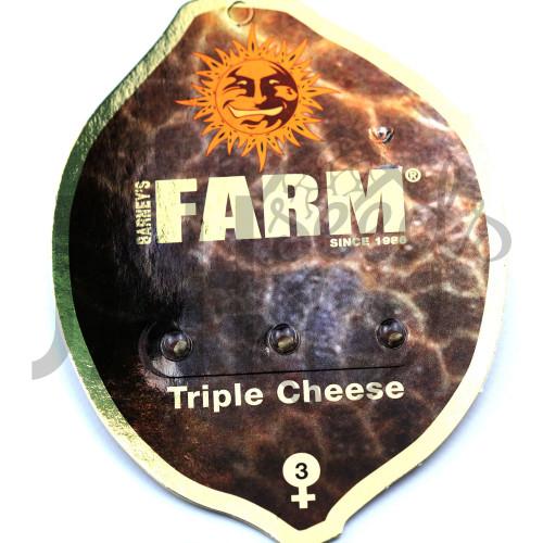 Triple Cheese Feminised насіння конопель: фото, характеристики, відгуки, опис