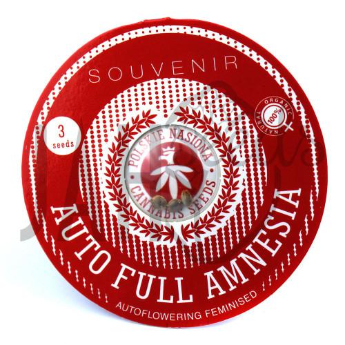 AUTO FULL AMNESIA FEMINISED насіння конопель: фото, характеристики, відгуки, опис