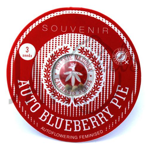 AUTO BLUEBERRY PIE FEMINISED семена конопли: фото, характеристики, отзывы, описание
