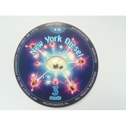 New York Diesel  насіння конопель: фото, характеристики, відгуки, опис