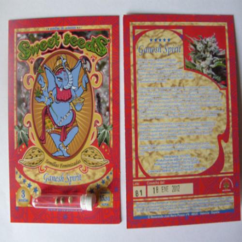 Ganesh Spirit Feminised насіння конопель: фото, характеристики, відгуки, опис