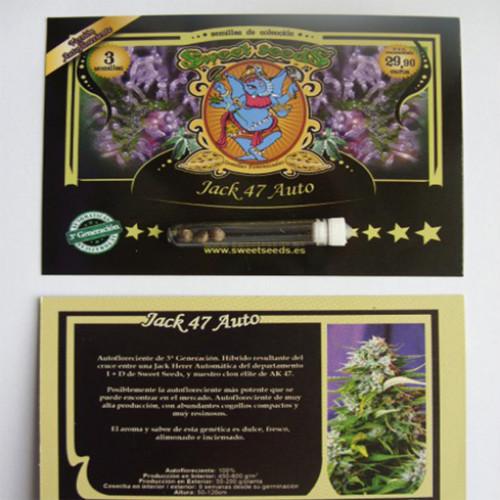 Auto Jack 47 Feminised насіння конопель: фото, характеристики, відгуки, опис