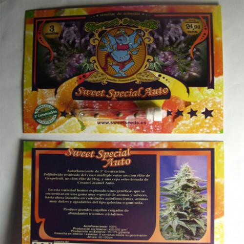 Auto Sweet Special Feminised насіння конопель: фото, характеристики, відгуки, опис